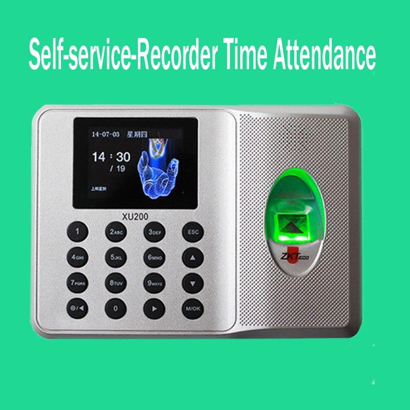 SSR No need Software Biometric Fingerprint Time Attendance Clock Employee Management<br>