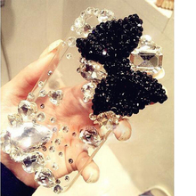 "phone case Luxury Crystal Hard PC Beautiful Bling Beads Elegant Cover For Apple iPhone 6 Plus 5.5""iPhone 6 6S 4.7'iPhone 7 7Plus(China)"