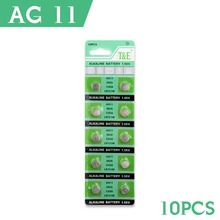 YCDC YCDC For watch Button Battery 20 Pcs AG11 362 SR721SW SR58 TR721 Alkaline Coin Cell Button Batteries For Watch 51% off(China)