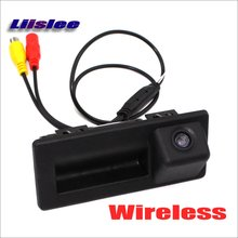 Liislee Wireless Car Back Up Rear View Camera For Audi A4 A4L S4 RS4 B9 8W 2015~2017 / Reverse Parking Camera / HD Night Vision(China)