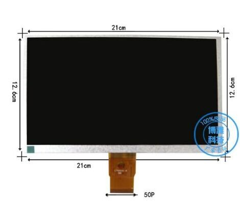 9inch TFT LCD LCM Display PANEL SCREEN 800*480 For Tablet PC HW8004800F YX090725 YX0900725-FPC PC YX0900725<br>