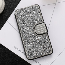 Buy KISSCASE SE 6S 7 Plus Capa Bling Rhinestone Leather Cover iPhone5 5S 6 6S Plus 7 7 Plus Diamond Stand Wallet Flip Phone Case for $7.39 in AliExpress store