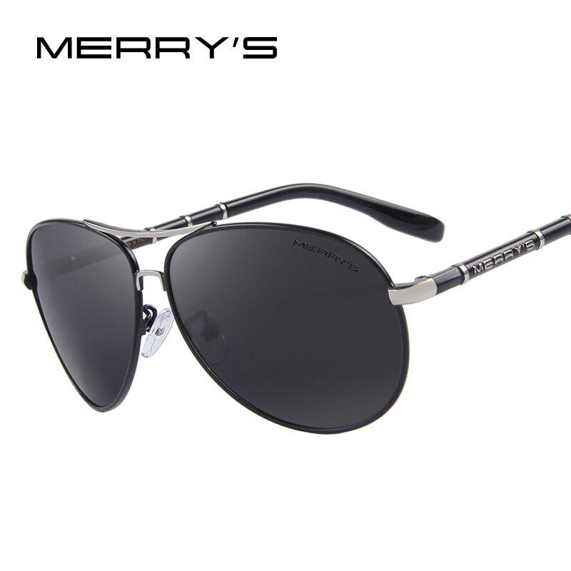 MERRYS Design Men Classic Brand Aviation Sunglasses HD Polarized Aluminum Driving Luxury Sun glasses S8766<br><br>Aliexpress