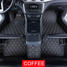 Car Floor Mats Case for Renault Koleos 2011 Customized Auto 3D Carpets Custom-fit Foot Liner Mat Car Rugs