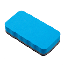 Magnetic White Board Dry Wipe Drywipe Cleaner Eraser(China)