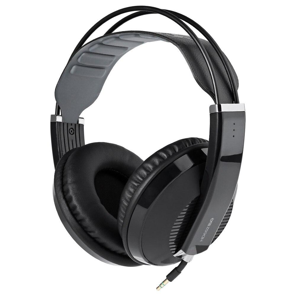 Superlux HD662 EVO Closed-back Monitoring Headphone Dynamic Wireless Headset Self-adjusting Headband Noise Cancelling<br>