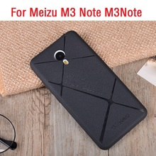 Luxury Fashion Soft TPU Mobile Phone Case For MEIZU M3 Note M3Note Cases Fundas Matte Frosted Back Cover For Meizu M3Note Shell