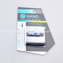 9H 3D Full Curved Edge Nano Liquid Touch Screen Protector Film Invisible NANO Technology for iPhone for Samsung etc Mobile Phone