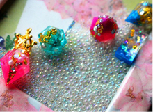 10pcs /lot big small Crown beads caps pendant buckle can be used with 14-18mm Pendant three-dimensional ball DIY jewelry