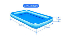 One Layer Inflatable Swimming Pool Extra Large Beach Pool For Adults And Children Summer Sand Fun(China)