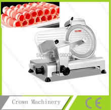 8 inch Electric semi automatic manual meat slicer frozen meat slicing machine(China)