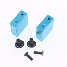 Aluminum Servo Positioning Seat Post For RC 1/18 WLtoys A949 A959 A969 A979 K929 Upgrade Parts(China)
