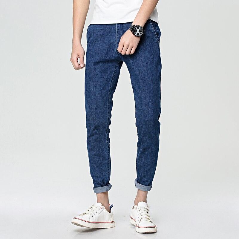 S-XXL Dark Blue Black Casual 2017 Spring New Arrival Ripped Jeans For Men Fashion Brand Men Jeans Slim Fit Jeans Men JX02Одежда и ак�е��уары<br><br><br>Aliexpress