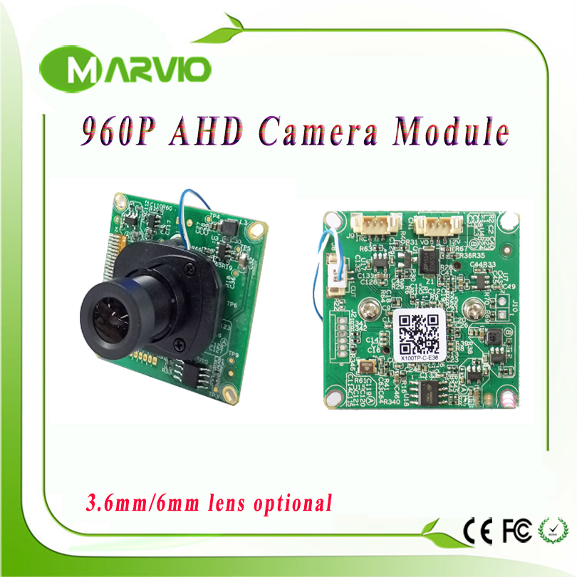 1.3MP 960P HD CCTV AHD-M AHD Camera Module Board with IRCUT and Lens 1200TVL 2400TVL Resolution replace CCD Camera camara(China (Mainland))