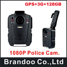 Professional Police Camera Body Camera Body Worn Car DVR GPS Ambarella A12 IR Night Vision Full HD 1080P