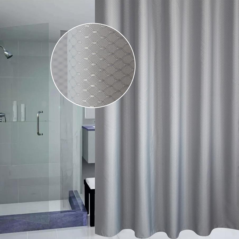 Grey Shower Curtain 14