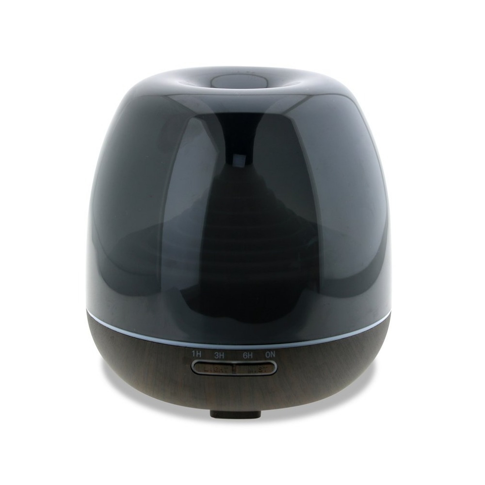 300ml Aroma Essential Oil Diffuser Silent Ultrasonic Air Humidifier with LED Night Light Support Auto-Off EU Plug<br>