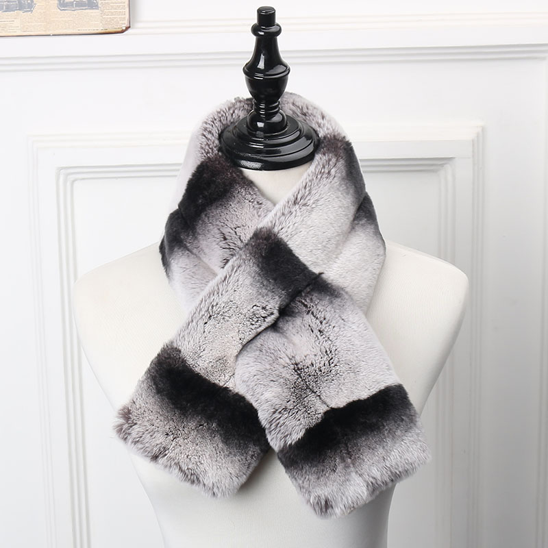 rex fur scarf 5 1