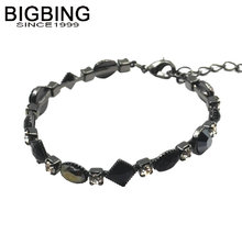 BIGBING jewelry fashion big brand black crystal Bracelet fashion bracelet fashion jewelry  high quality free shipping Q012