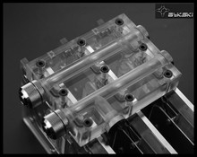 Full Cover Graphics Card Water Cooling Block, the SLI/CF bridges L4-2WAY L4-2WAY L6-3WAY