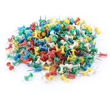 Map Label Multicolor Metal Pushpins Thumbtack 350 Pcs for School Office