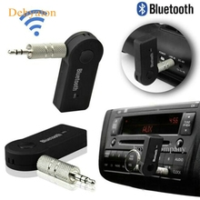 Dehyaton Bluetooth Car Kit New Bluetooth AUX Audio Receiver 3.5 Jack Music Reception Broadcast Car Bluetooth Hands-free(China)