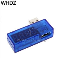 NEW Digital Display Hot Mini USB Power Current Voltage Meter Tester Portable Mini Current and Voltage Detector Charger Doctor