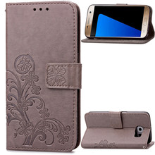 Luxury Retro 3D Leather Wallet Flip Cover Case For Samsung Galaxy S3 S4 S5 Mini S6 S6 edge Plus Note 5 Phone Case with Card Slot