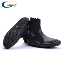 professional 5MM slip diving  boots waterproof shoes for men,women,diving wetsuit ,fishing snorkeling , warming swimming