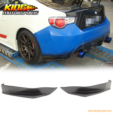 Fit For 13-16 Scion FRS Subaru BRZ STI Rear Aprons Valences