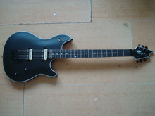 new EVH wolfgang Kramer matte black matt guitar Floyd Rose Tremolo special shape ebony fretboard dot inlay zebra pickup