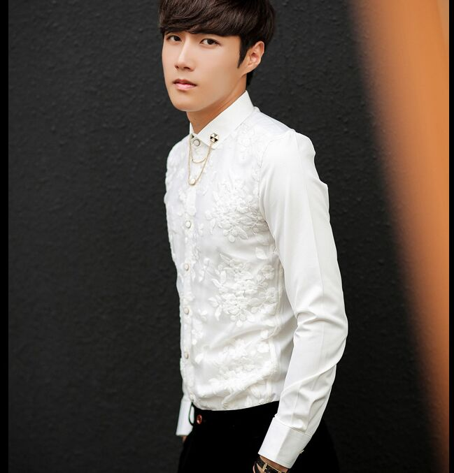 Online buy wholesale mens gauze clothing from china mens for High end mens shirts