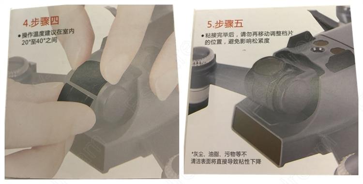 Neutral Density ND4 + ND8 + CPL + UV Ultraviolet Polarizer Lens Filter Kit for DJI Spark Accessories Gimbal Drone Camera