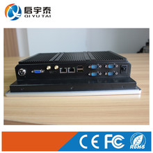 Industrial Embedded pc Intel Atom N2807 1.6GHz 10 inch IR Touch Screen Computer Resolutio 800x600 mini pc 2GB DDR3 32G SSD(China)