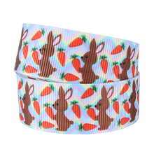 FLORA Ribbons wholesale Bunny Easter printed ribbon(China)