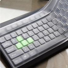 Factory price Hot Selling New Universal Silicone Desktop Computer Keyboard Cover Skin Protector Film 1PC Drop Shipping(China)