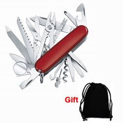 UNeeful Многофункциональный складной швейцарский карманный нож армейский Suvival инструмент для кемпинга из нержавеющей стали карманный размер ...