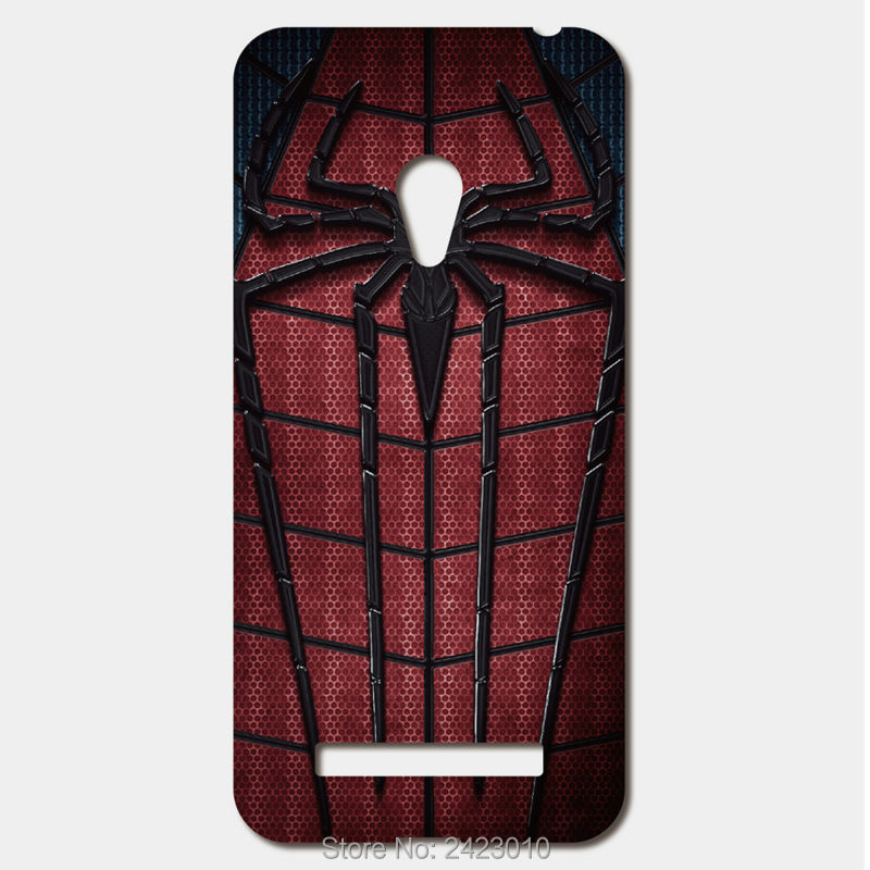For ASUS Zenfone 5 6 4 A450CG 3 Max ZC520TL ze500cl Selfie ZD551KL Case Patterned Cover Amazing spiderman superhero phone case(China (Mainland))