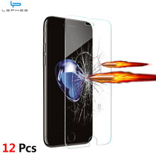 12Pcs/Lot 2.5D Tempered Glass for iPhone 8 X 5 5s SE 6 6s 4s 4 9H Explosion Proof screen protector Film for iphone X 7 Plus 8 i8