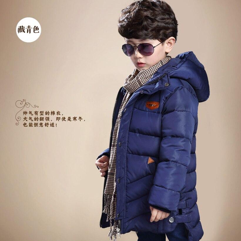 Boys Winter Jacket Coat Warm Kids Hooded Outerwear Casual Boy Down Parka Childrens Clothes Winter Jacket Kids Jongens WinterjasОдежда и ак�е��уары<br><br><br>Aliexpress