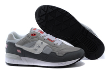 Hot Sale Saucony Shadow 5000 Women's Shoes,High Quality Retro Women's Shoes Sneakers Dark Grey/White Color Size 36-39(China)