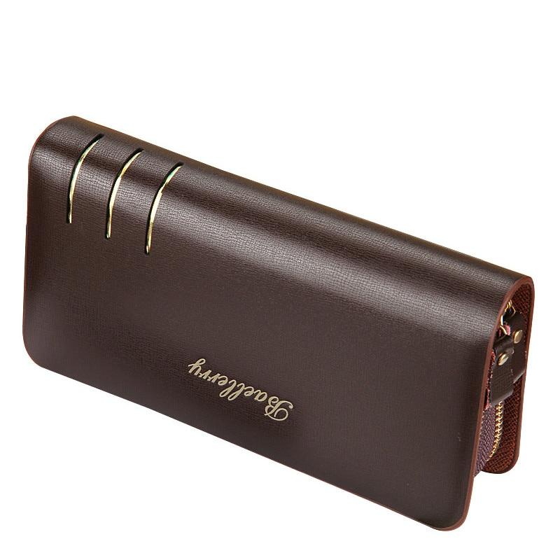 Hot sale Business High-grade Leather Man Wallets Luxury Purse Zipper Multifunction Handbag Long Wallet for Men<br><br>Aliexpress
