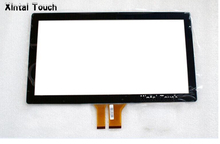 "Free Driver 42"" projected capacitive touch screen for LED TV, 10 points multi PCAP touch panel overlay kit with EETI controller(China)"