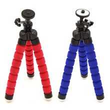 Flexible Octopus Tripod Bracket Holder Stand for iPhone cellphone Camera Red Blue Black
