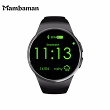 Mambaman KW18 Smart Watch Android Bluetooth Smartwatch alarm clock watches men Heart Rate for Mobile phone iphone Xiaomi VS iwo(China)