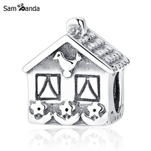 Buy Authentic 100% 925 Sterling Silver Bead Charm Love Family Home Sweet Home Charms Fit Pandora Bracelets & Bangles DIY Jewelry for $6.90 in AliExpress store