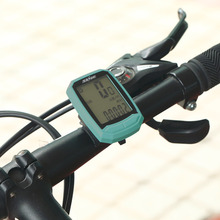 Brand Wireless SAHOO Waterproof LCD Display Multifunctional Cycling Bike Bicycle Speedometer Odometer With Backlight New Style(China)