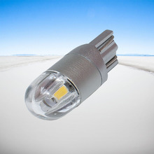 4PCS T10 LED Car Light 2 SMD 3030 Marker Lamp W5W WY5W 2SMD Parking Bulb Wedge Dome Light Auto Styling White Blue Red Yellow 12V