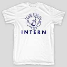 TEAM ZISSOU INTERN Life Aquatic Wes Anderson Bill Murray T-Shirt Design T Shirts Casual Cool Cotton Men T-Shirts Classical