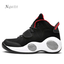 Night Elf men basket shoes high quality sneakers breathable PU leather sport shoes men 2016 Winter running shoes plus size 39~48